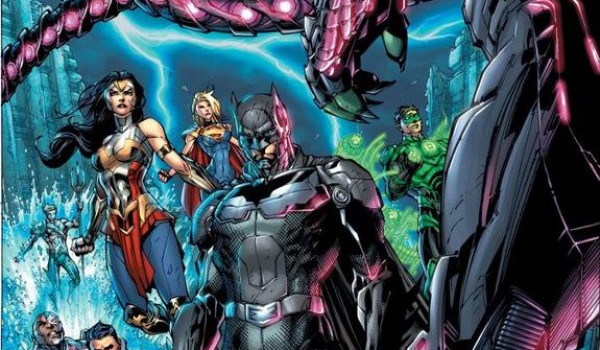 Jim Lee's Injustice 2 #1 Cover Teases Brainiac