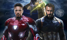New Avengers: Infinity War Promo Art Features Cap, Black Widow And Falcon