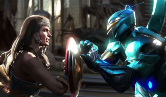 Injustice 2 Comic-Con Trailer Pits Wonder Woman And Blue Beetle Against Each Other