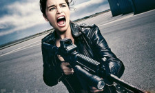 New Stills For Terminator Genisys Have Emilia Clarke Packing Some Serious Firepower