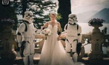 Watch: This Wedding's Father Daughter Dance Was A Lightsaber Duel