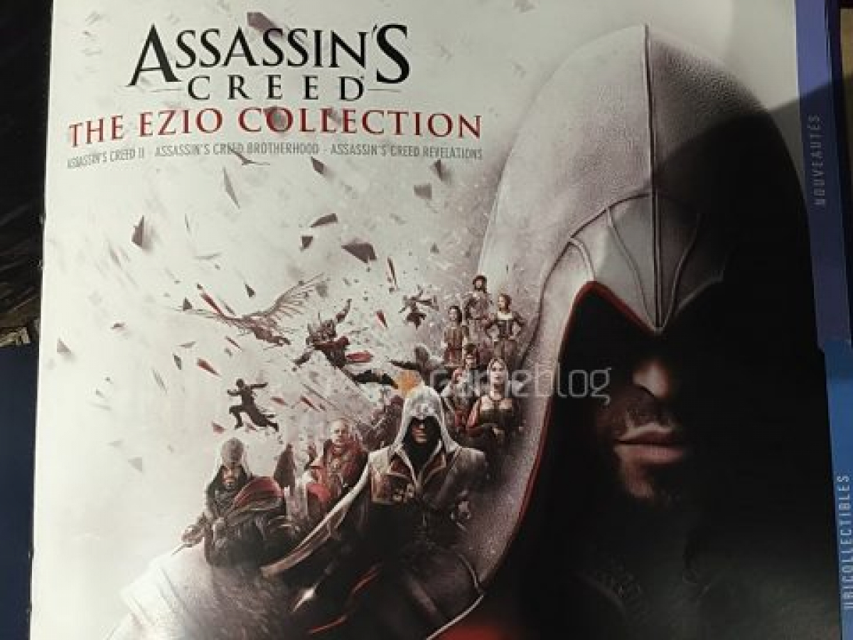 Report Promotional Material For Rumored Assassin S Creed The