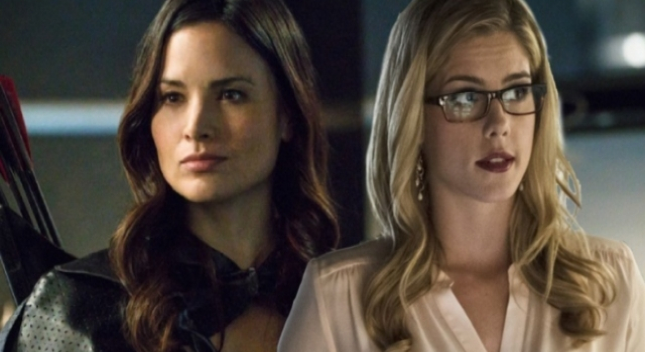 Arrow's Katrina Law Wants Nyssa To Make Out With Felicity