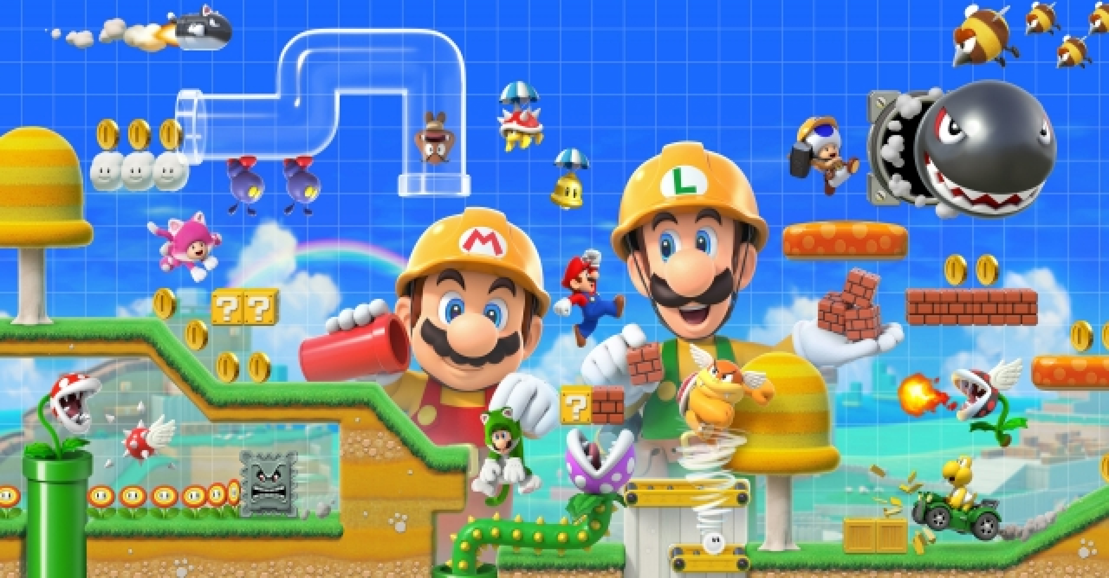 Super Mario Maker 2 Review - The King Of Level Creation
