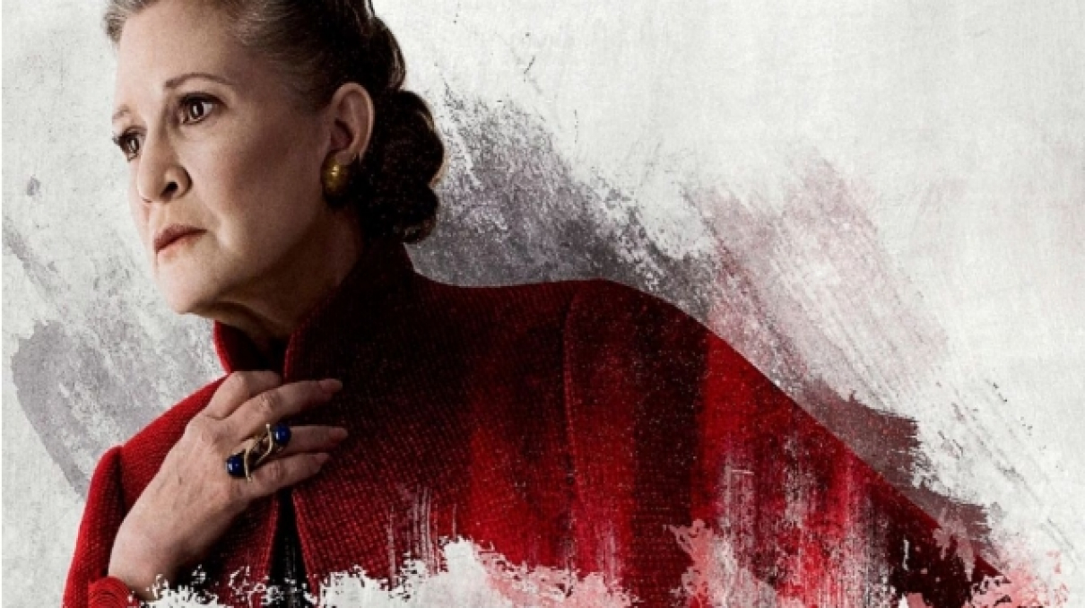 One Of Carrie Fisher S Rise Of Skywalker Scenes Was Taken From The Force Awakens Blu Ray