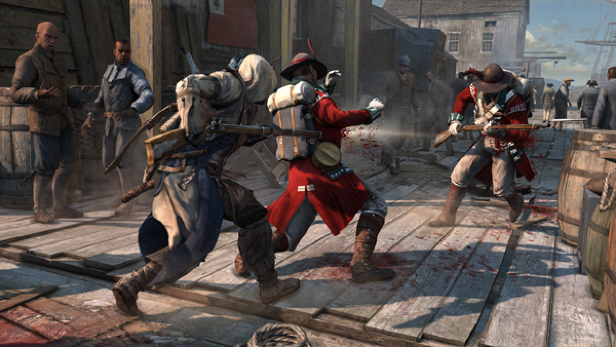 New Assassin S Creed Iii Patch Hits Next Week Fixes Several Bugs