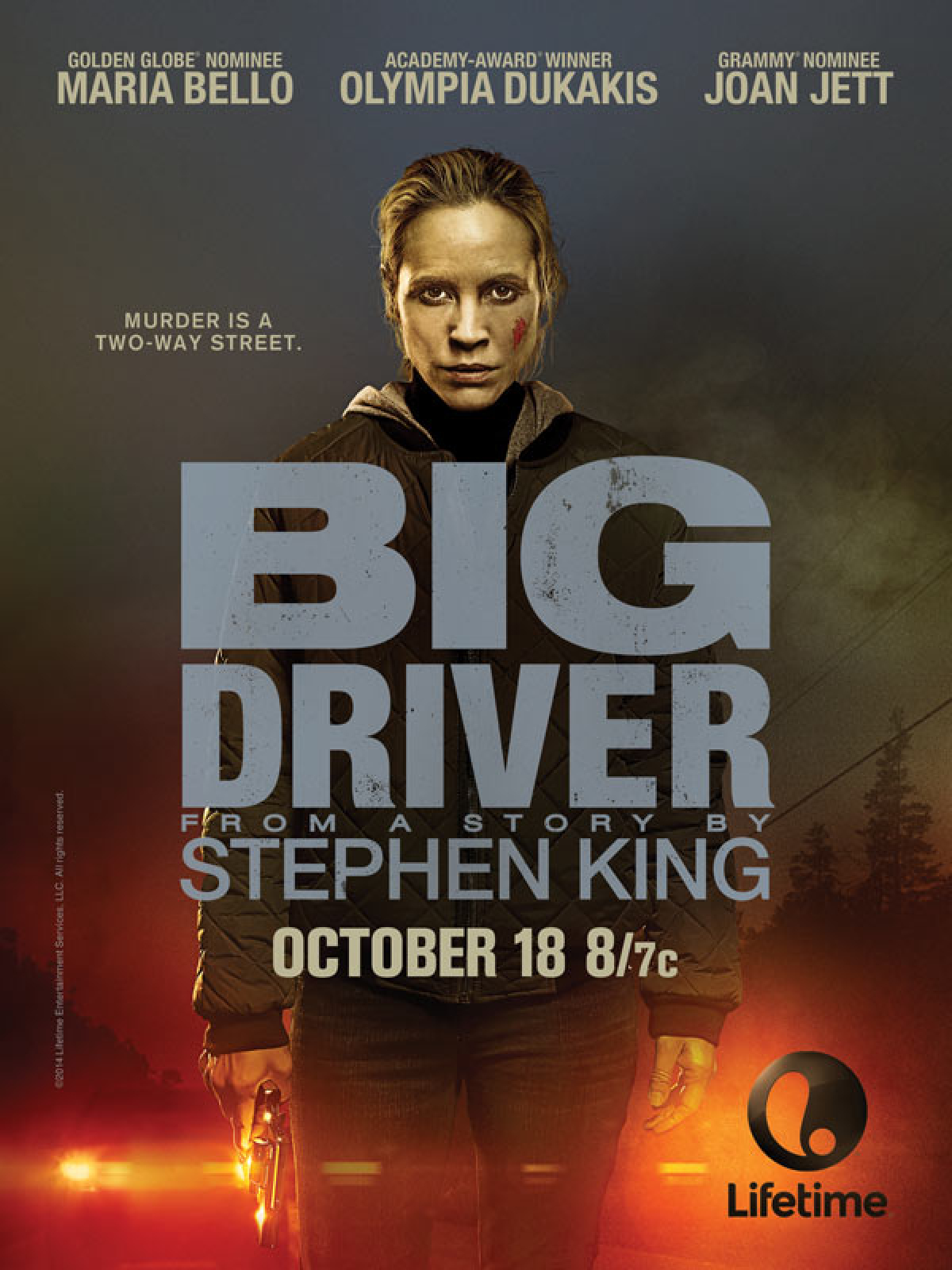 First Trailer For Lifetime's Stephen King Adaptation Big Driver