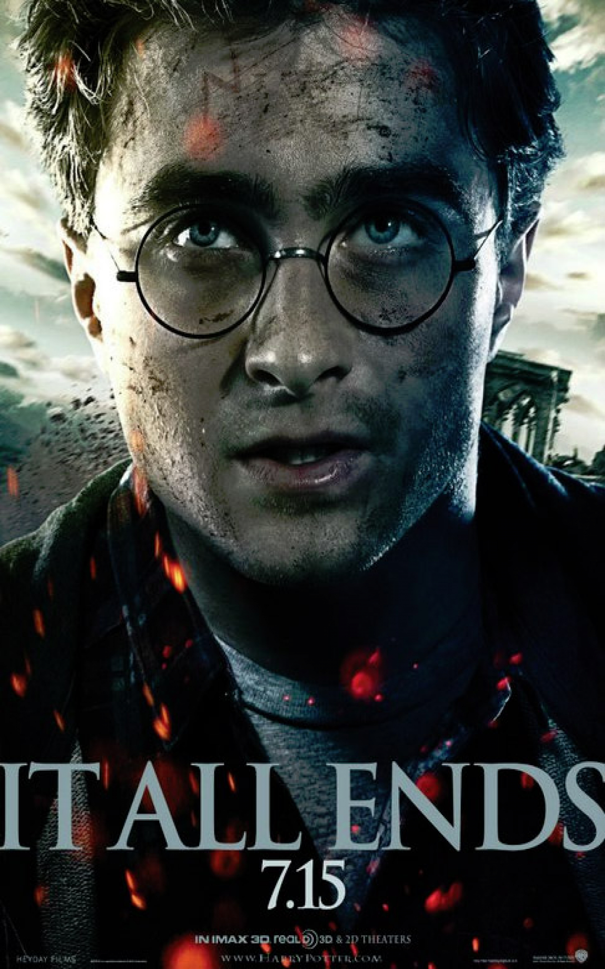 New Poster For Harry Potter And The Deathly Hallows Part 2