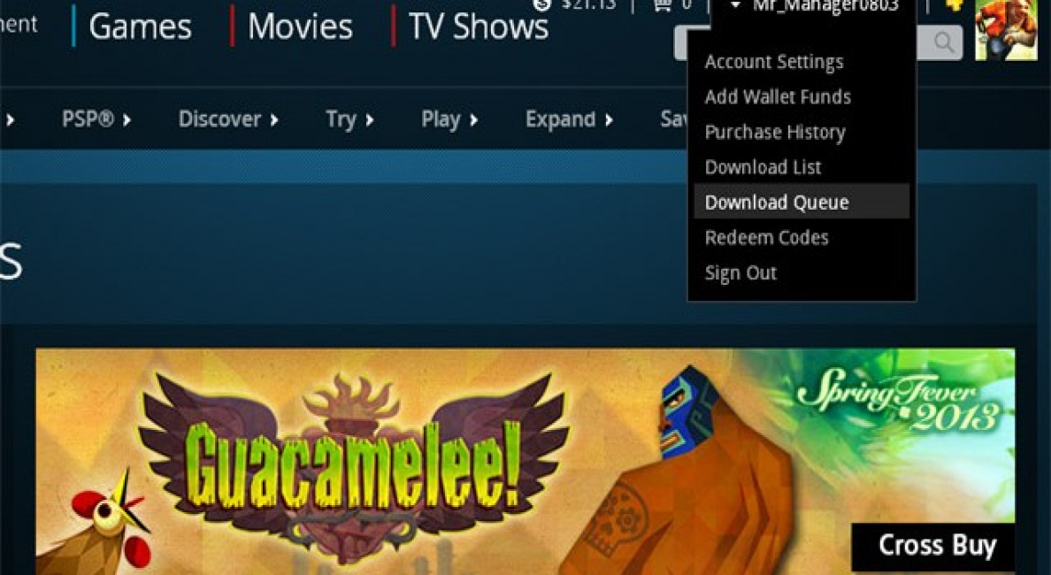 Playstation Web Store Can Now Queue Downloads For The Ps3 And Vita