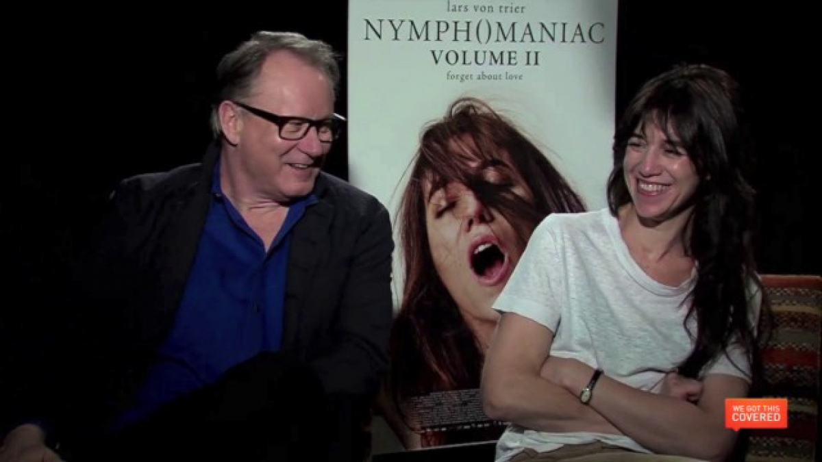 Nymphomaniac At Movie Theatre Porn Vid exclusive video interview with the cast of nymphomaniac