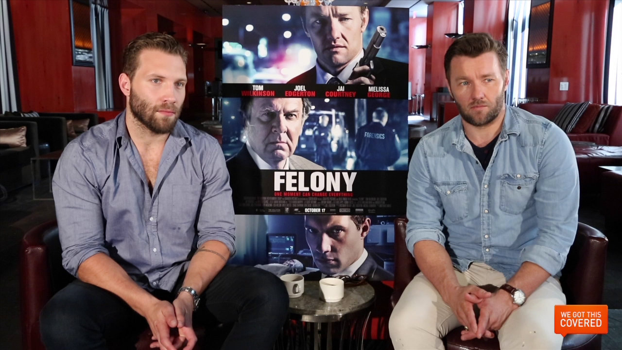 Exclusive Video Interview With Joel Edgerton And Jai Courtney On Felony