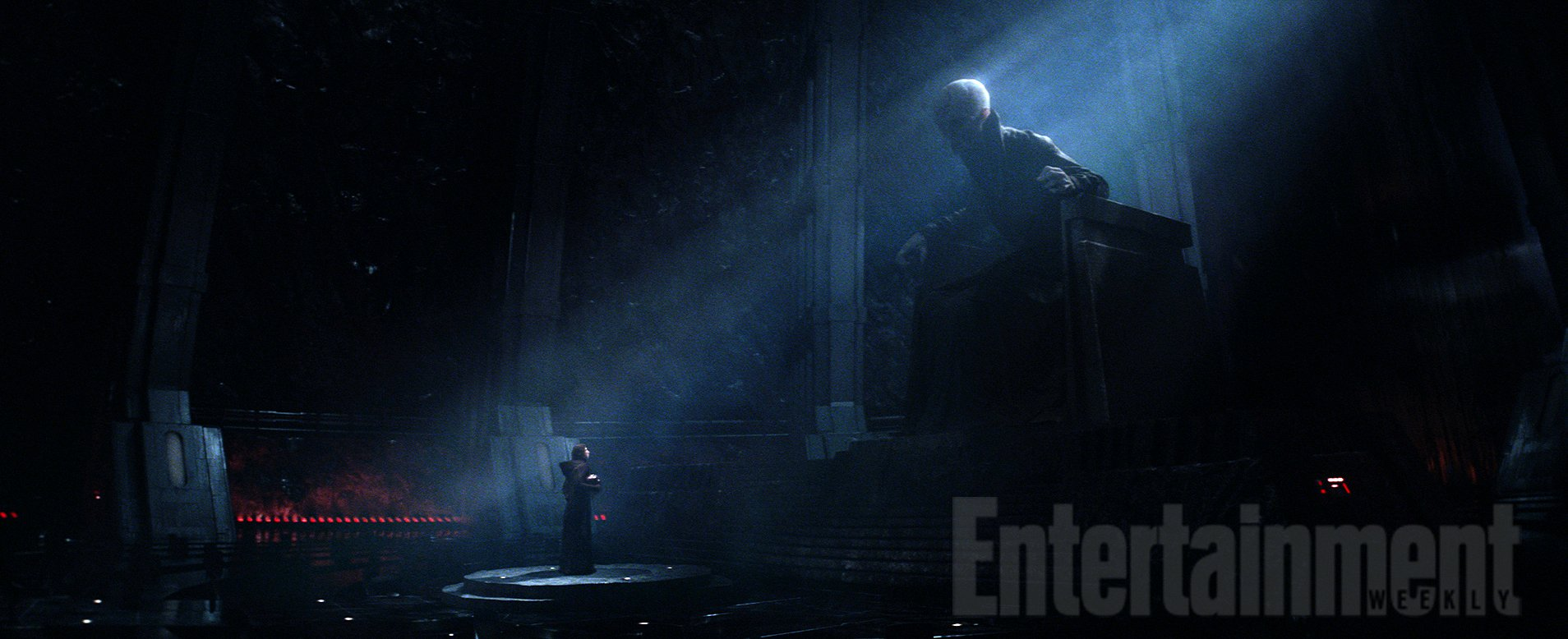 First Official Images Of Snoke And Maz Kanata From Star Wars: The Force Awakens