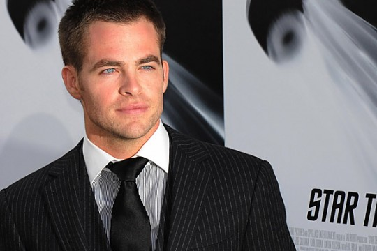 01 chris pine 540x360 10 Actors Who Could Play The Flash In Justice League