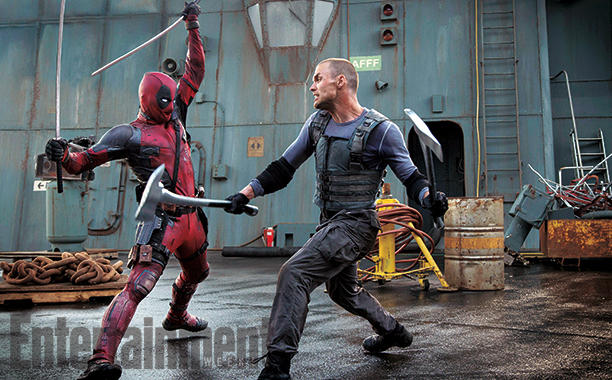 Wade Wilson Slices And Dices In New Deadpool Action Shot