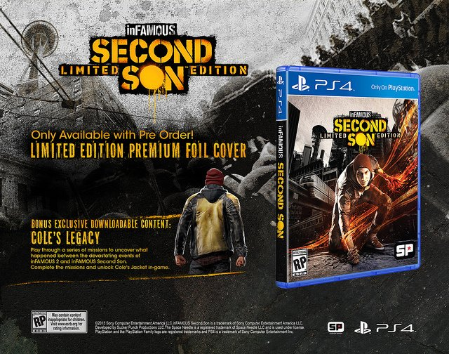 inFAMOUS Second Son Is Getting A Limited And Collector's Edition