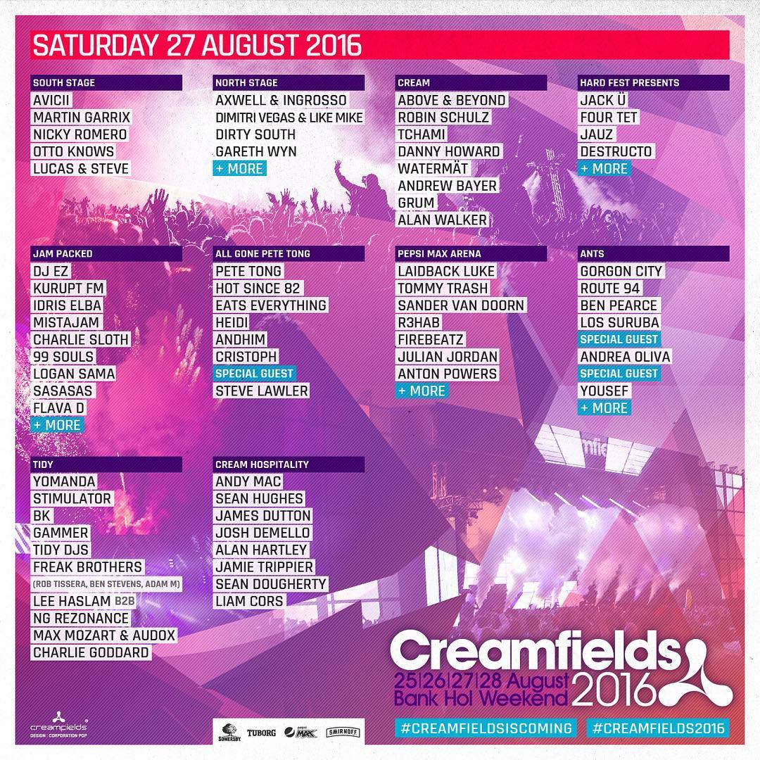 Creamfields UK Drops Its Biggest Lineup Ever