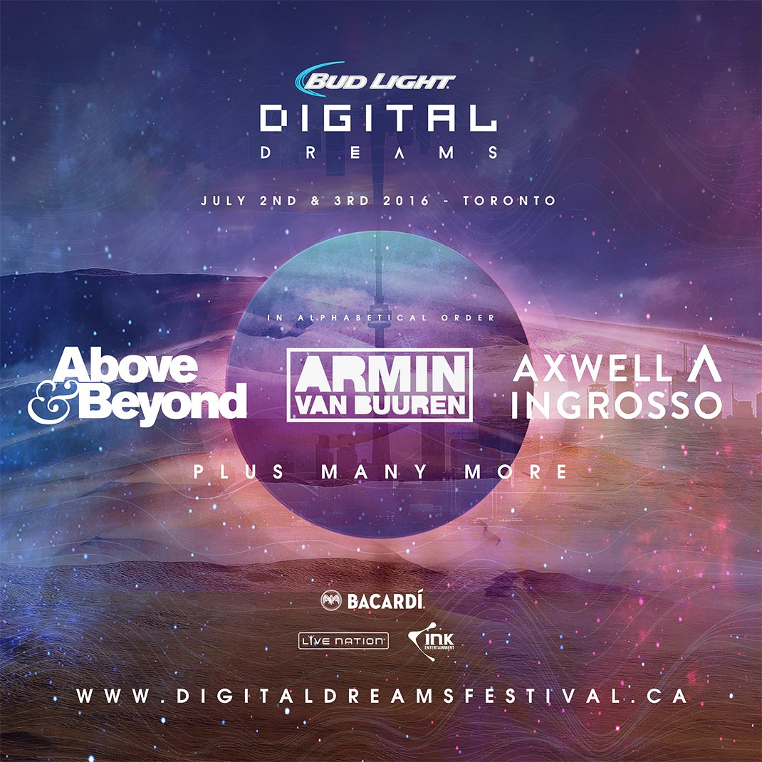 Digital Dreams Announces Three Headliners For 2016 Edition