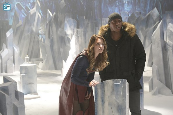 Superman's Fortress Of Solitude Revealed In Stills From Supergirl Season 1, Episode 15