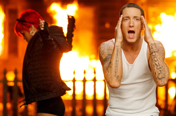 Eminem and Rihanna Debut 'Love The Way You Lie' Music Video