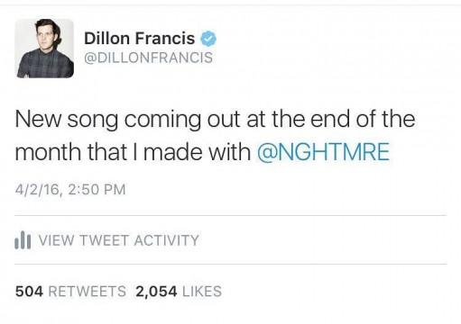 Dillon Francis Drops NGHTMRE Collaboration In Austin