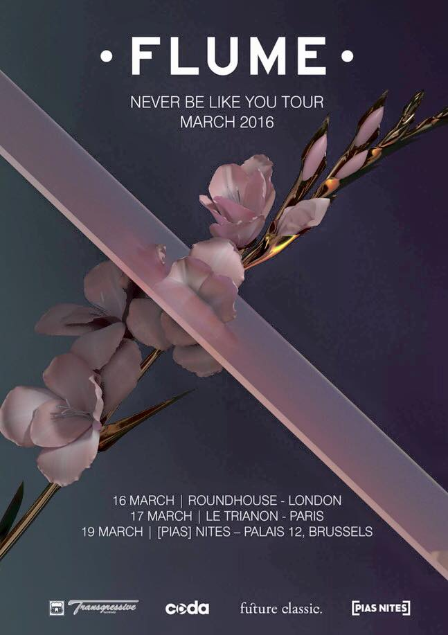 Flume To Hit Europe In March With Never Be Like You Tour