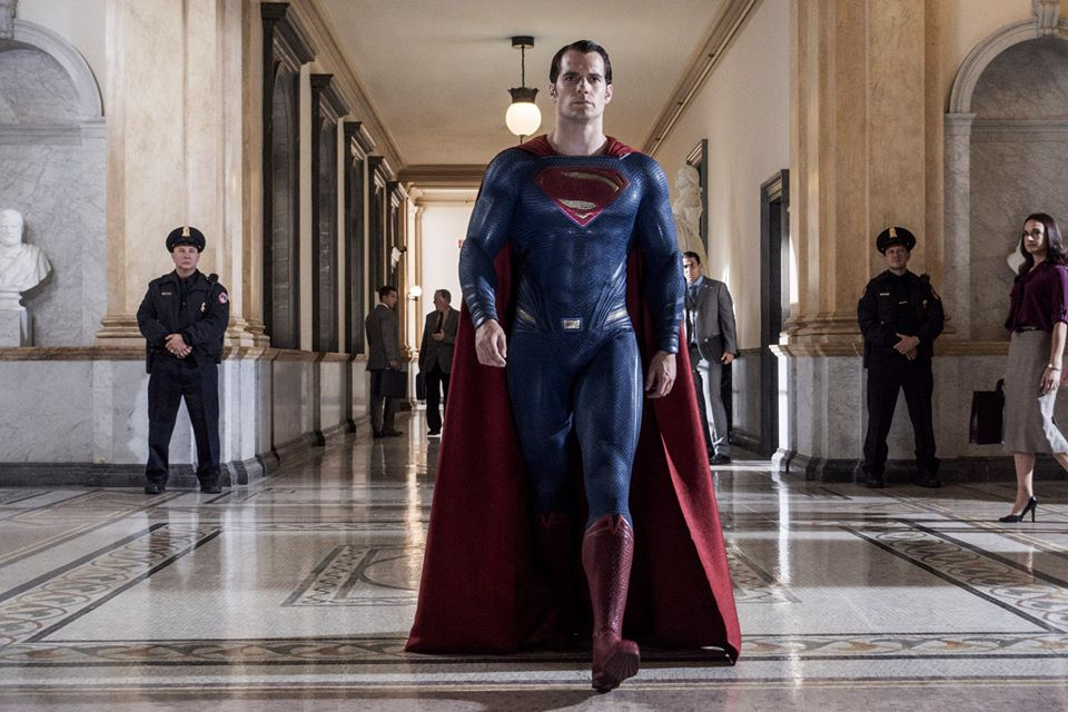 The Man Of Steel Stands Tall In New Batman V Superman: Dawn Of Justice Image