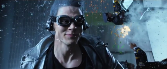 Quicksilver Zips Around In New TV Spot For X-Men: Days Of Future Past