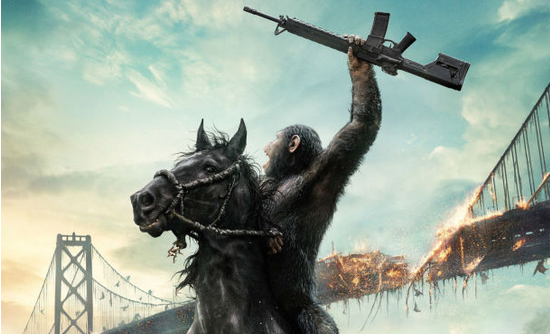 Apes Have The Advantage In New Dawn Of The Planet Of The Apes TV Spot