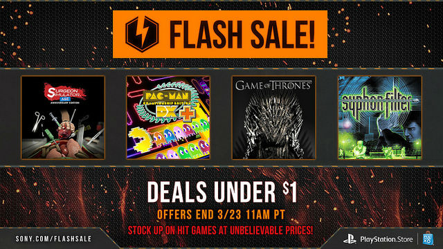 Weekend PlayStation Network Flash Sale Offering Discounts On Gravity Rush, Surgeon Simulator And More