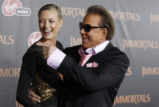 Roundtable Interview With Mickey Rourke On Immortals