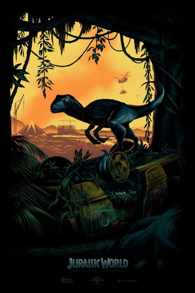 Jurassic World Gets A New Comic-Con Poster