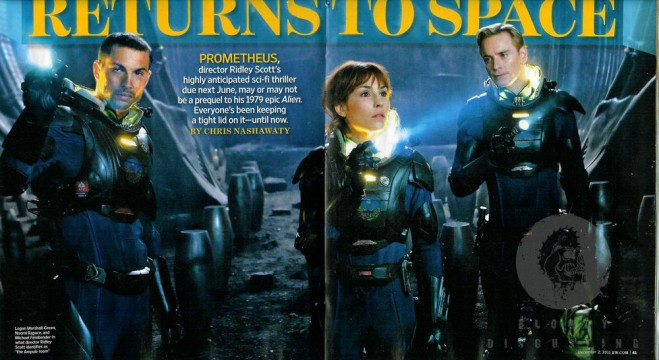 First Look At Noomi Rapace, Michael Fassbender And More In Prometheus