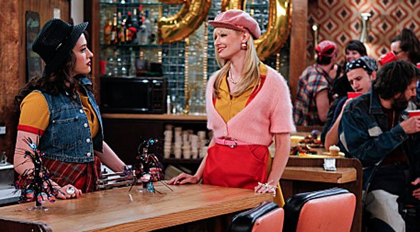 2 Broke Girls Season 1-05 'And The 90's Horse Party' Recap