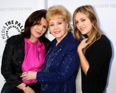 Carrie Fisher's Daughter Is In Star Wars: The Force Awakens