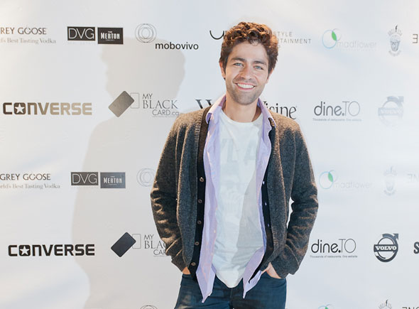 Press Conference Interview With Adrian Grenier On Teenage Paparazzo