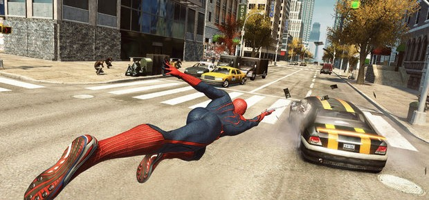 Swinging Through Manhattan In The Amazing Spider-Man Game