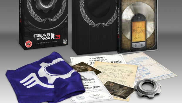 Gears Of War 3 Epic And Limited Editions Revealed