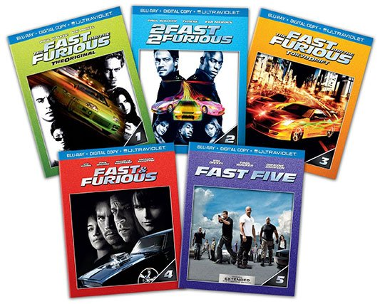 We Got This Covered's Deals Of The Day: The Fast And Furious 1-5 Bundle