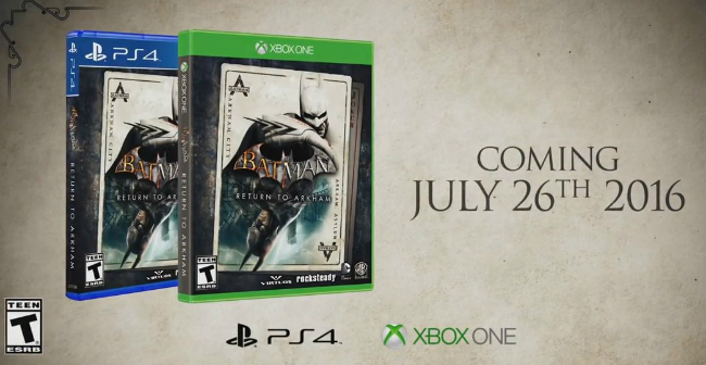 Batman: Return To Arkham Reportedly Delayed To November