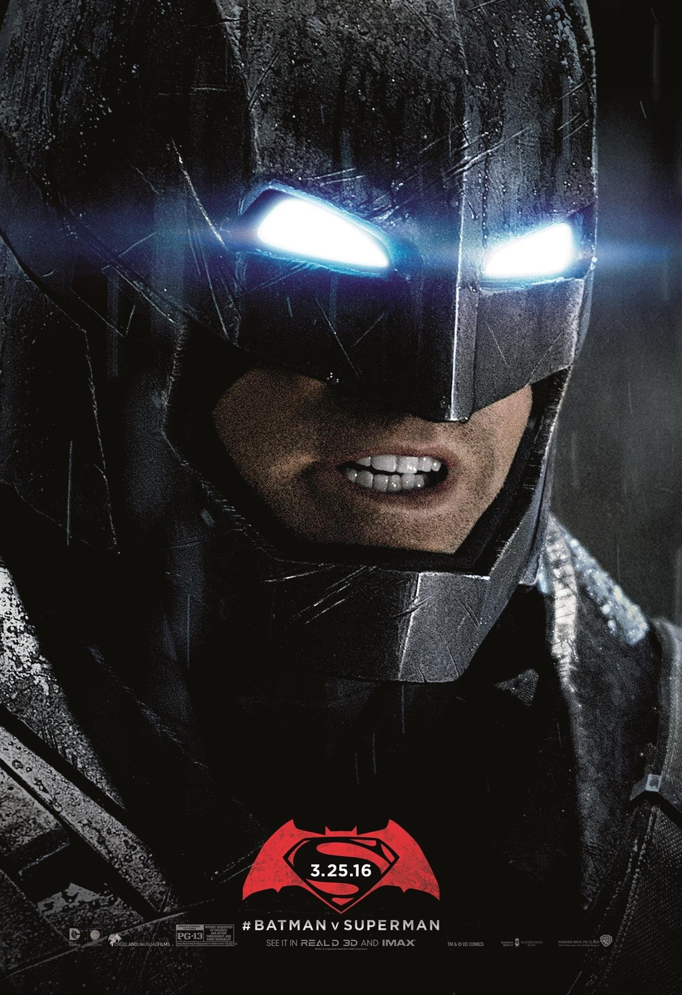Unused Posters For Batman V Superman Dawn Of Justice Feature The Man Steel And Dark Knight