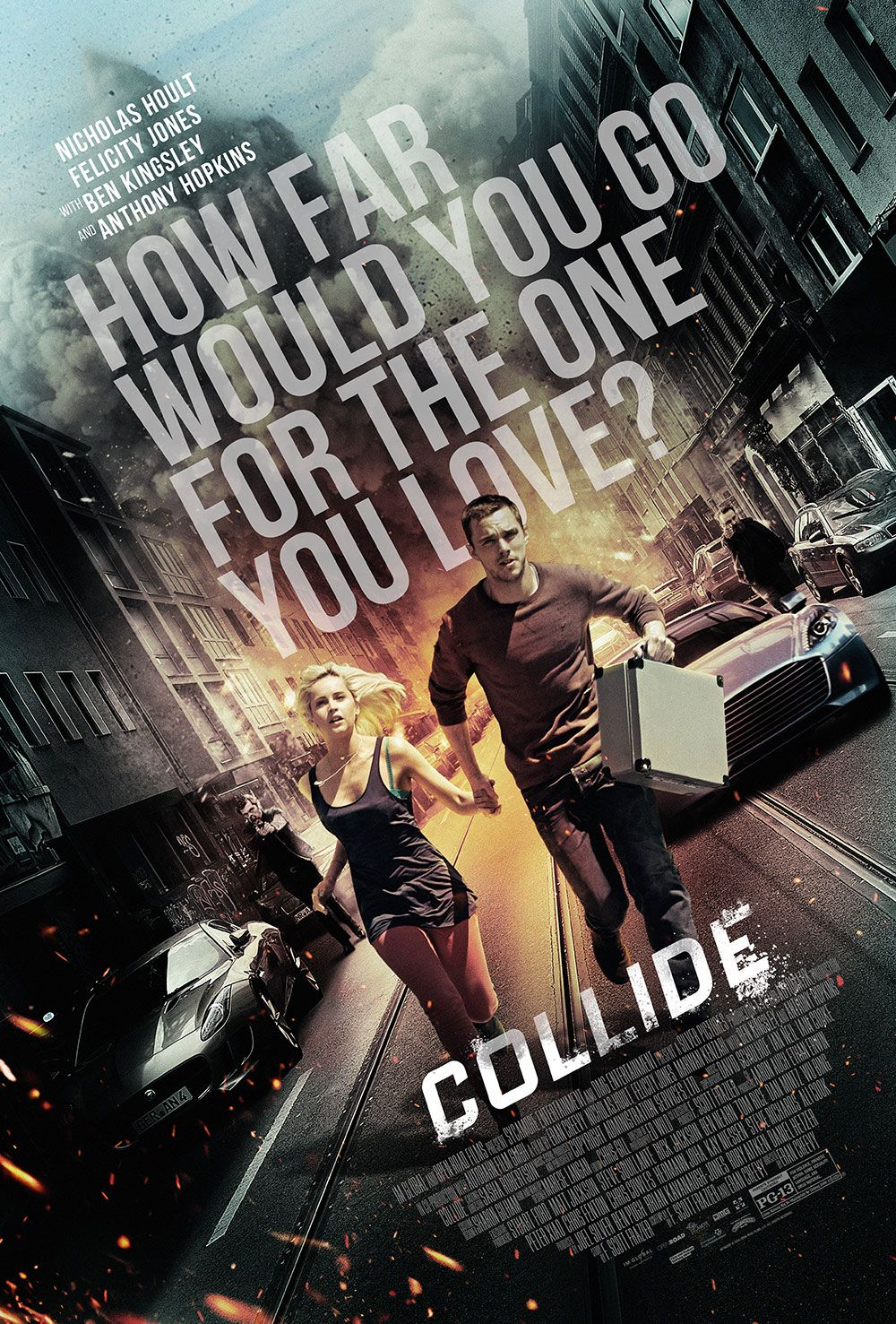 Collide Trailer And Poster Send Nicholas Hoult Careering Toward A Dark Past
