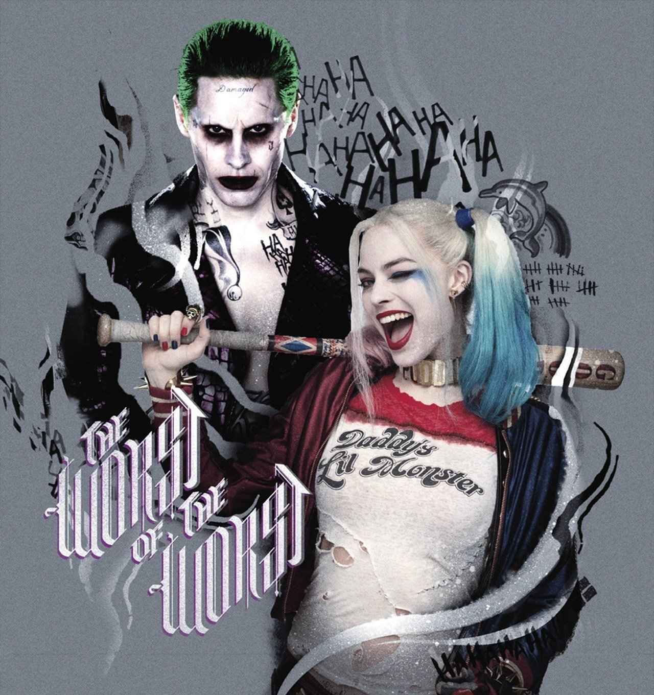 Awesome New Suicide Squad Promo Art Features The Joker, Harley Quinn, And More