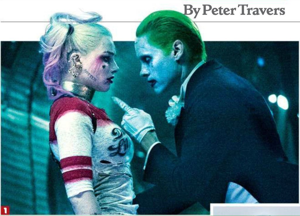 New Look At The Joker And Harley Quinn In Revealing Suicide Squad Image