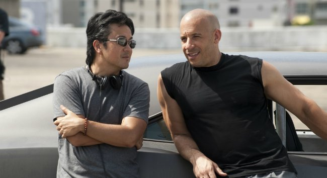 Justin-Lin-and-Paul-Walker-on-set-of-Fast-Five