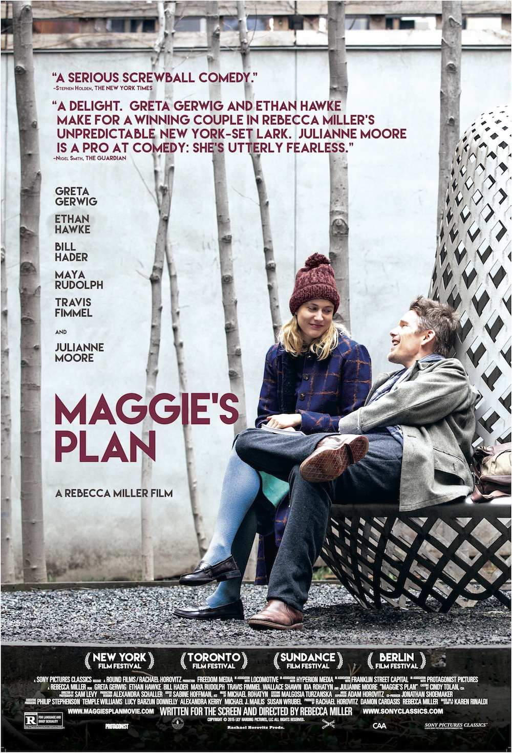 Maggie's Plan Review