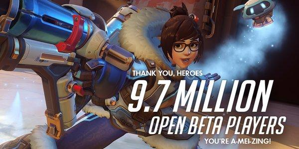 Overwatch Beta Pulled In A Record-Breaking 9.7 Million Players