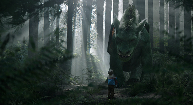 Pete's Dragon Emerges In New Image For Disney's Live-Action Reimagining