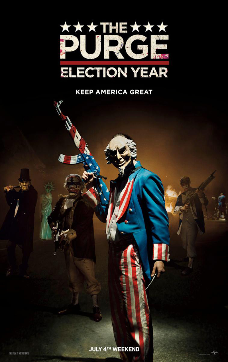 Anarchy Reigns In Latest Trailer For The Purge: Election Year
