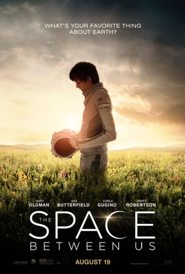 First Trailer For The Space Between Us Finds Asa Butterfield Marooned On The Red Planet