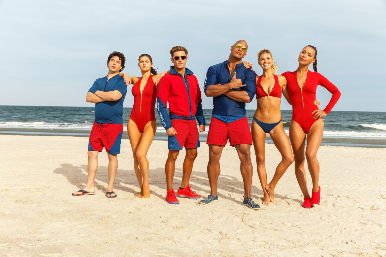 Baywatch Gets Patriotic With All-New Motion Poster